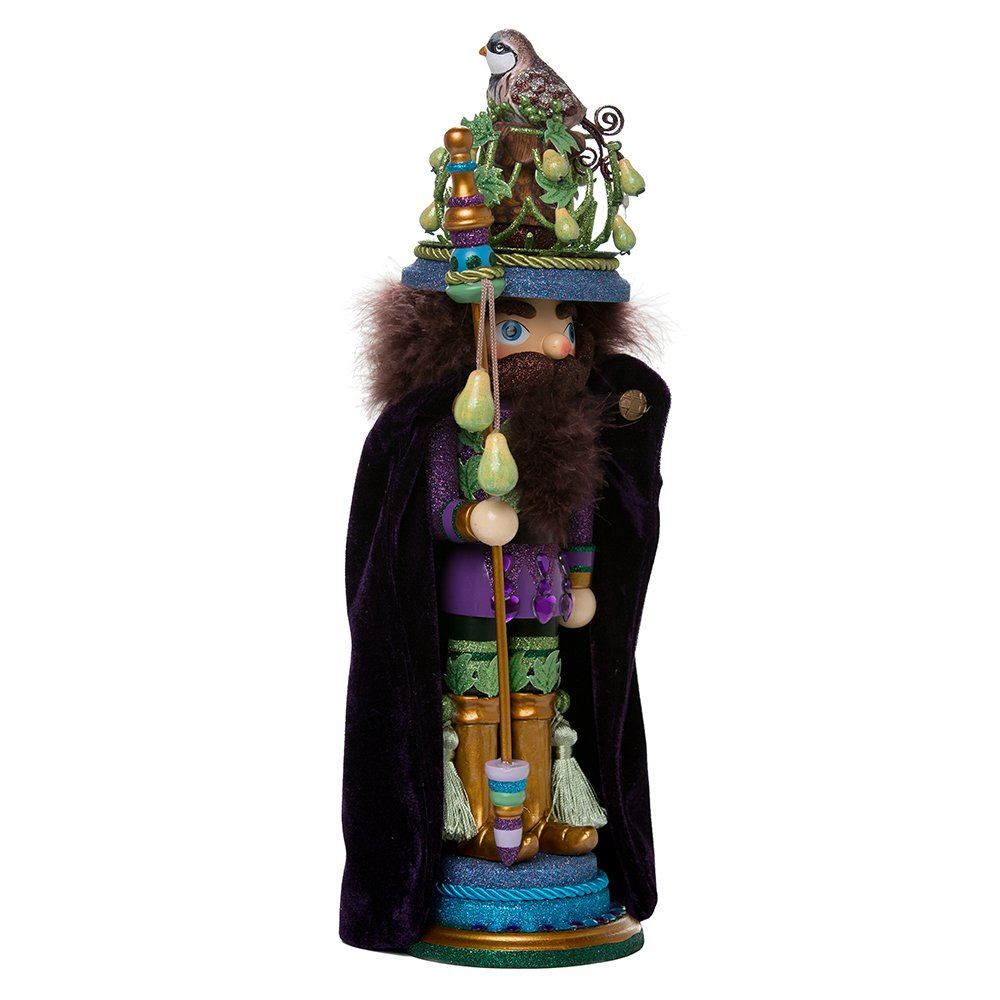 Kurt Adler HA0339 18'' Hollywood Partridge in a Pear Tree Nutcracker
