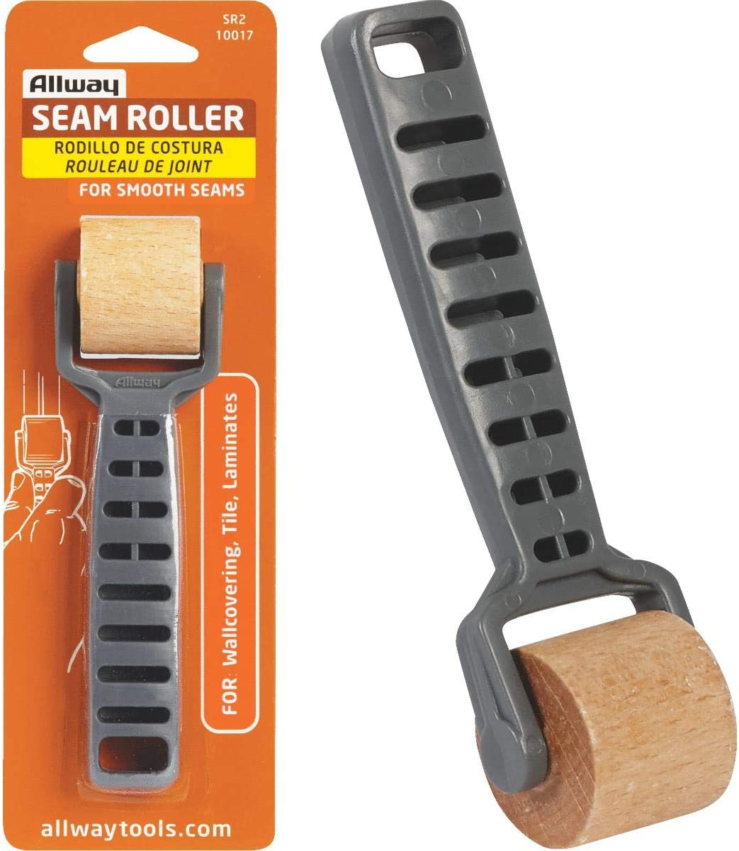 Acero Inoxidable Wallpaper Seam Roller Home Decoration Seamed DIY Hand Tool