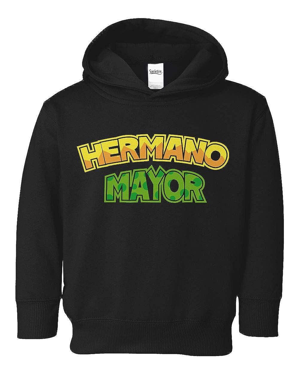 Societee Hermano Mayor Girls Boys Toddler Hooded Sweatshirt