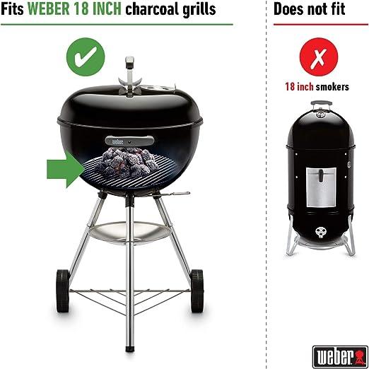 Grille foyère Ø 34,5 cm pour barbecue Weber Ø 47 cm 7440