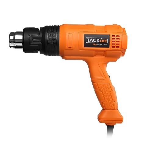 tacklife hgp70ac Professionale – Pistola de aire caliente con vielfaltige Temperatura alta temperatura – 220 ~