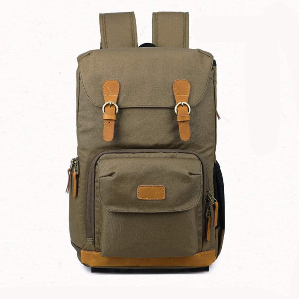 肩の写真のバックパック一眼レフデジタルバッグ、防水シートの男性のバックパックのカメラバッグ C