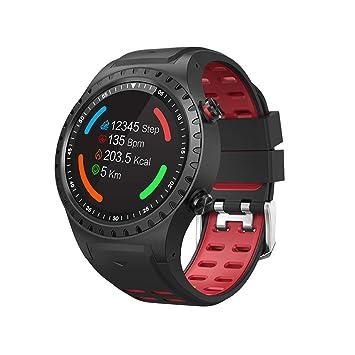 Smartwatches M1 Reloj Inteligente IP67 Soporte Impermeable Tarjeta Micro SIM Bluetooth Dial Llamada Monitor De Frecuencia