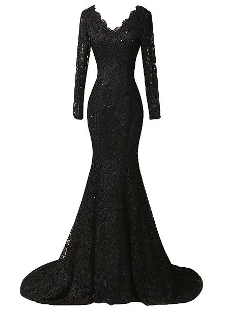 Duraplast Women\'s Plus Size Dress Mermaid Lace Evening Long ...