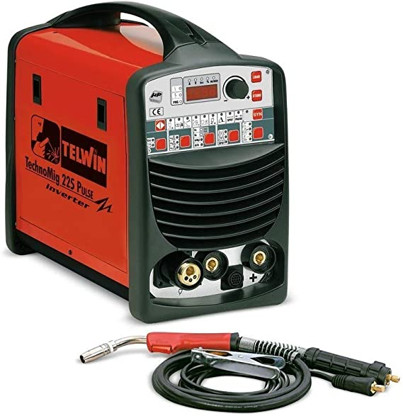 TELWIN TE-852026 - Soldador Inverter de Hilo Mig-Mag/Flux/Brazing Technomig 225