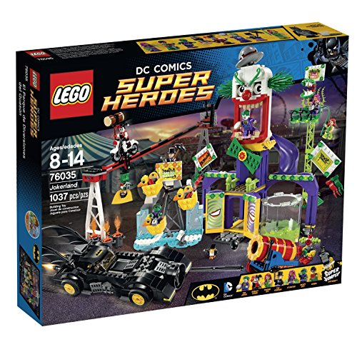 LEGO Super Heroes 76035 Jokerland Building Kit -
