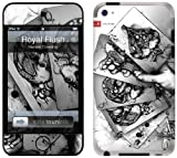 GelaSkins Protective Skin for iPod Touch 4G with Access to Matching Digital Wallpaper Downloads - Royal Flush