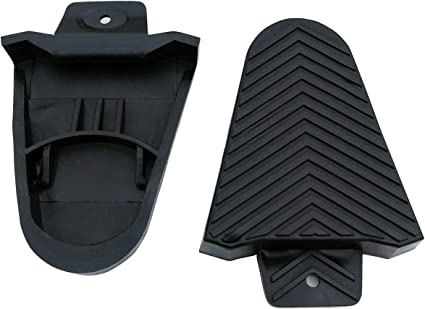 1 Pair SPORTMORE Bike Bicycle Cleat Covers Compatible with Shimano SPD-SL Pedal Systems