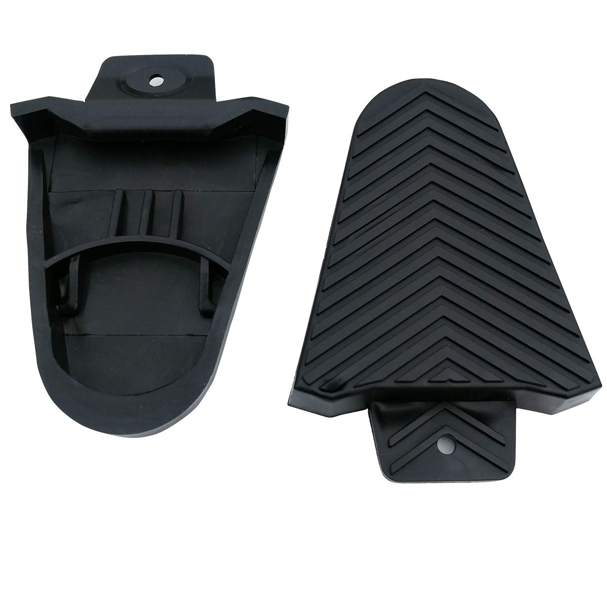 SPORTMORE Bike Bicycle Cleat Covers Compatible with Shimano SPD-SL Pedal Systems - 1 Pair by SPORTMORE