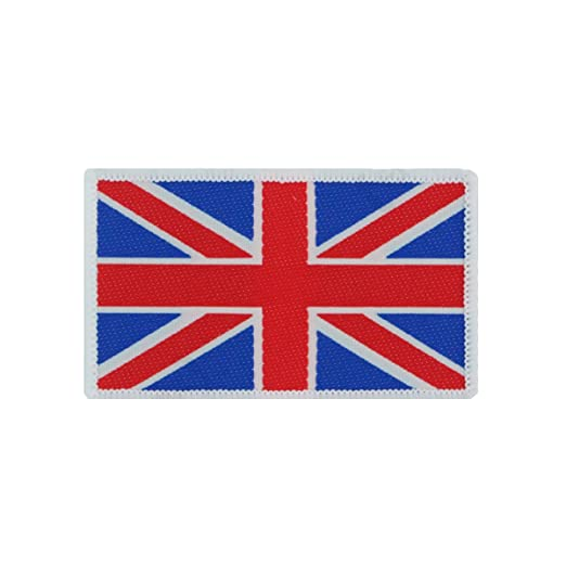 Amazon com: Epic Militaria British Union Flag Patch - Economy: Clothing