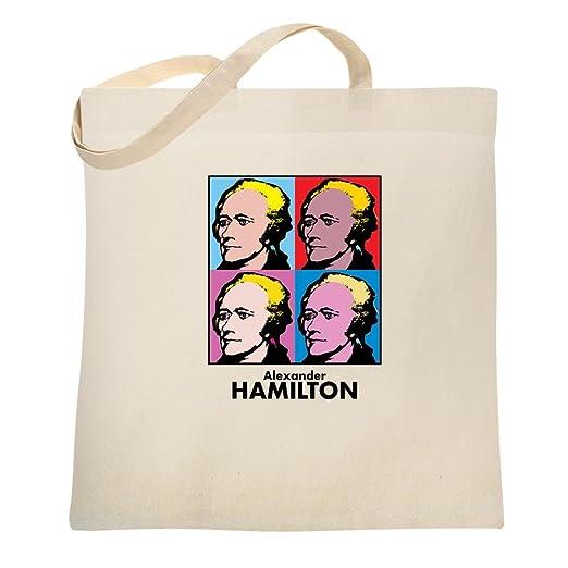 78547ed3b320 Amazon.com: Alexander Hamilton Pop Art Natural 15x15 inches Canvas ...