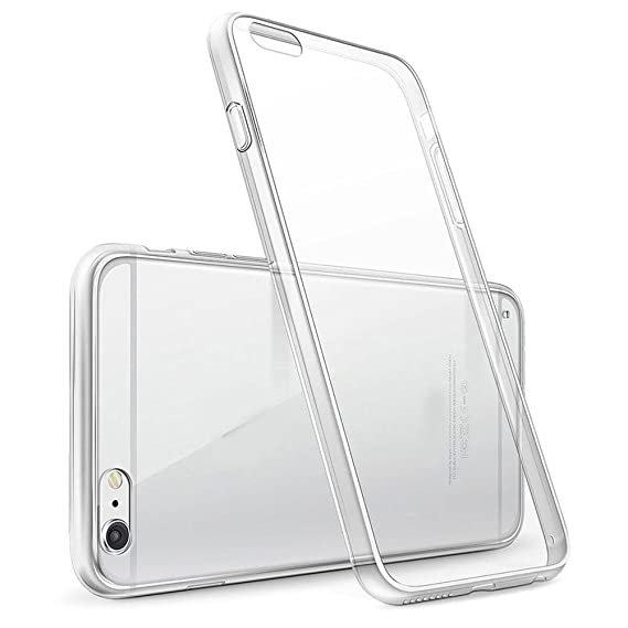iPhone case 6 / 6s Transparent Protective Anti-Scratch Cover Silicone Clear Fundas Carcasa