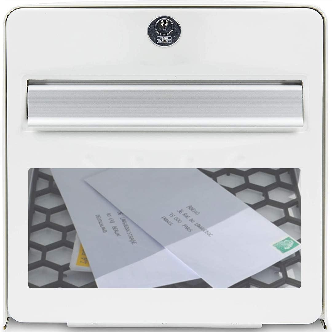 Plate mailbox custom bell 1 line format 10x2 cm