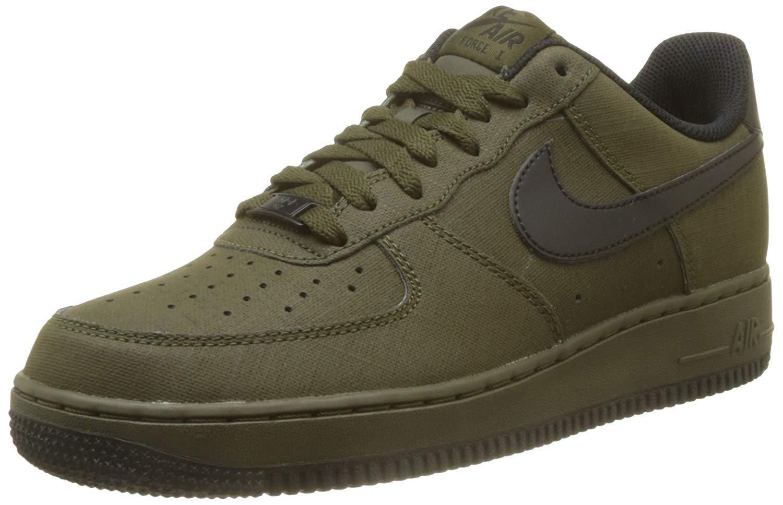 NIKE Mens Air Force 1 Basketball Shoes (11.5 D(M) US, Dark Loden/Black)