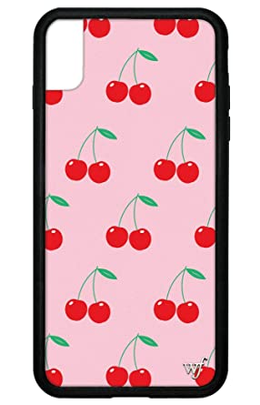 Wildflower Limited Edition I Phone Case For I Phone Xs Max (Pink Cherries) by Wildflower