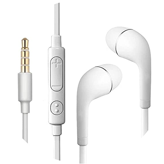 Ear Hook Wireless Headphone Earphone Sport Headset Ecouteur Auriculares Bluetooth,Wired White