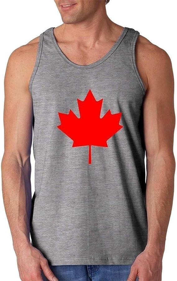 Canada Maple Leaf Men Tank Top X-Large Sport Grey Artix A