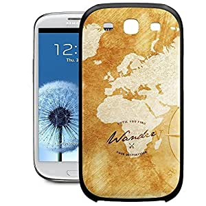Bumper Phone Case For Samsung Galaxy S3 - Wander The World Protective Back