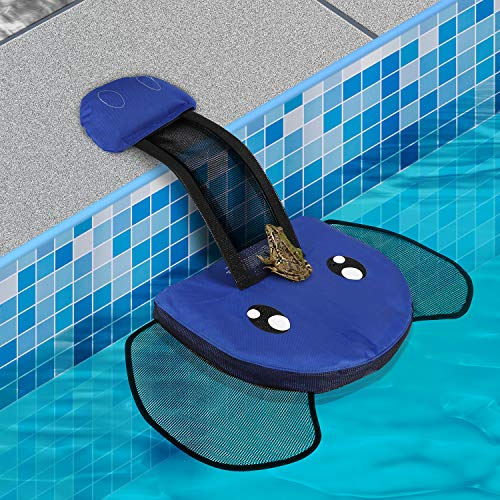 QRose Animal Saving Escape Ramp for Pool, Save Critters in Swimming Pool Device Handy, Floating Ramp Rescues Saving Frogs, Toads Animal Mice, Birds (Pool 5 Choruses)