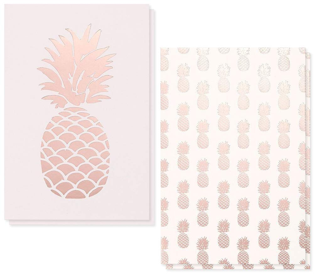 36 Pack Assorted All Occasion Greeting Cards Pink Pineapple Design