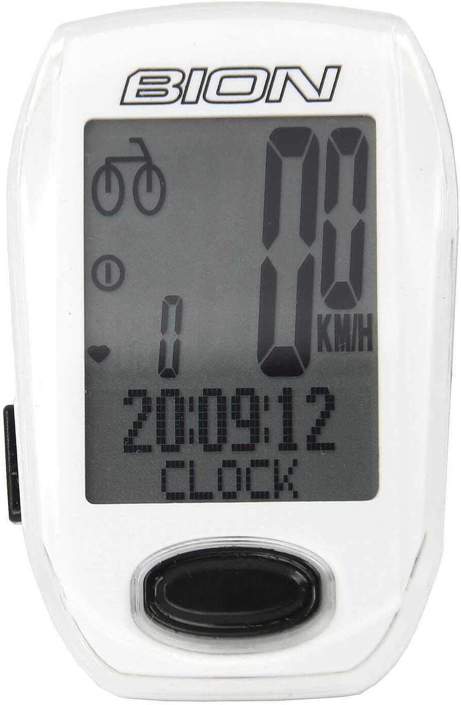 CatEye Padrone Wireless Cycle Computer with Stopwatch White