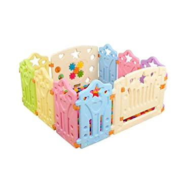 Amazon Com Jiyaru Baby Playpen Kids Panel Play Center Yard Safety