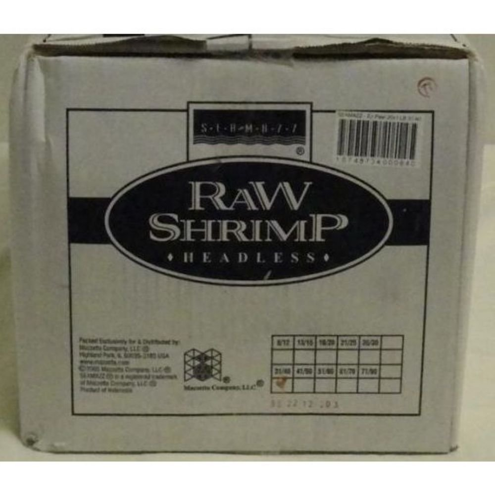 Seamazz Easy Peel White Shrimp, 31/40 Count -- 10 per case.