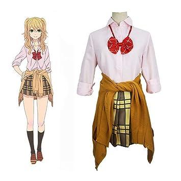 GGOODD Anime Citrus Aihara Yuzu Mujer Cosplay Costume Falda ...