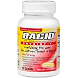 Bacid Probiotic Caplets 50 Caplets (Pack of 2)