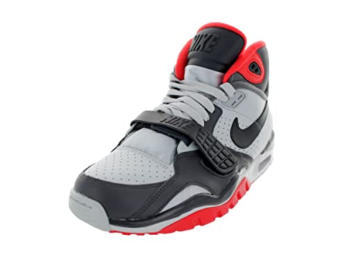 hot sale online 94c0e 3866b Uomo Nike Air Trainer Sc II Shoes 443575 WhiteBlackRed 47.5 Amazon.it  Scarpe e borse