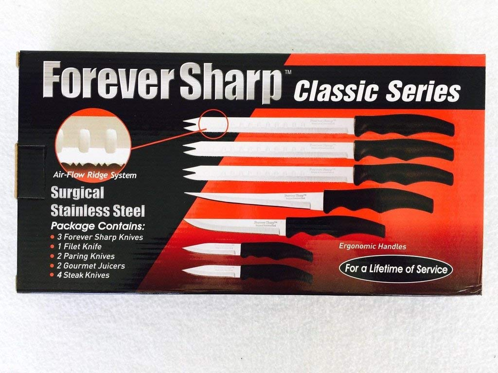 Buy forever sharp classic series 12 pc set surgical stainless steel knives online at low prices in india amazon in
