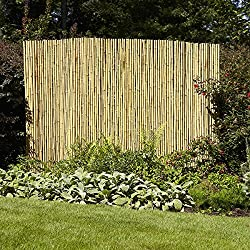 "Gardenpath Fence 1"" Full Round Bamboo Fencing"