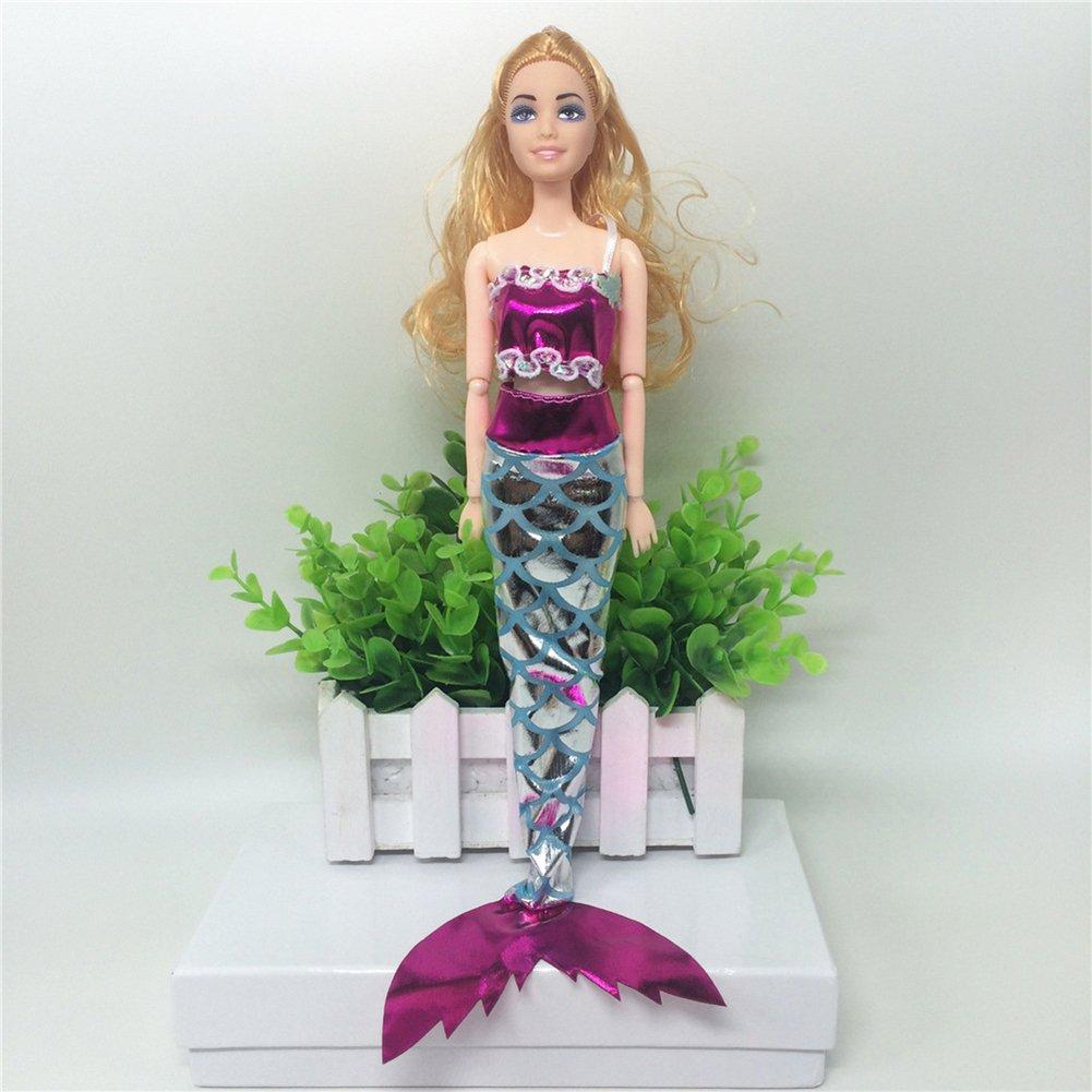 Juguetes Creativos, Zantec Ropa de princesa de mar Traje de ...