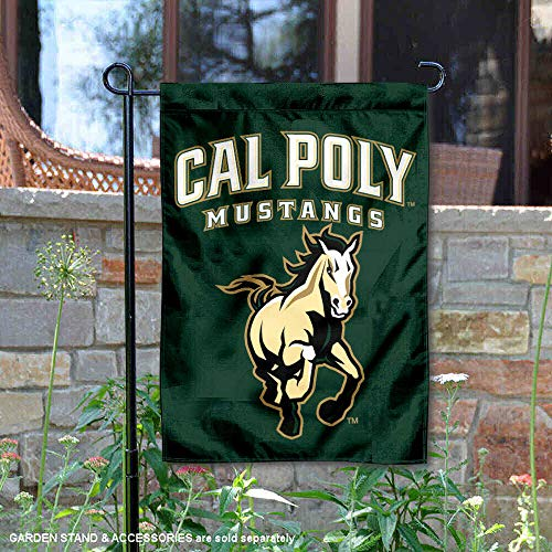 (Cal Poly Mustangs Garden Flag and Yard Banner)