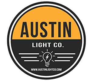 Austin Light Co. Outdoor Outlet Timer with Photocell Light Sensor, Weatherproof Black - UL Listed. Indoor and Outdoor. Commercial Grade. Great for Christmas, Holiday Lights, Patio, Backyard, Home