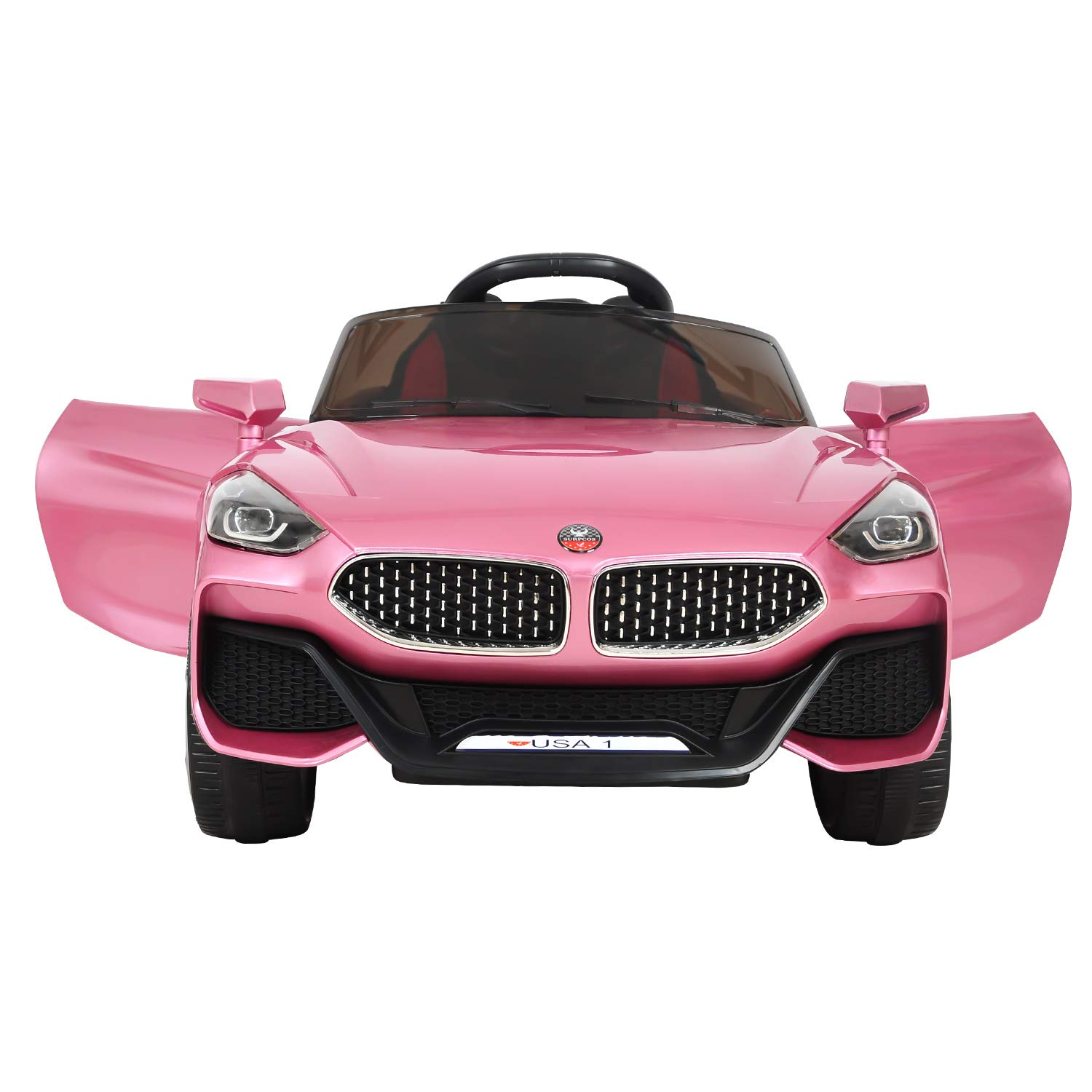 EOSAGA Ride On Car Toys, Electric 12 V RC Ride On Car with Remote Control Rechargeable Battery Powered Electric Car with 2 Motors, Parental Remote ...