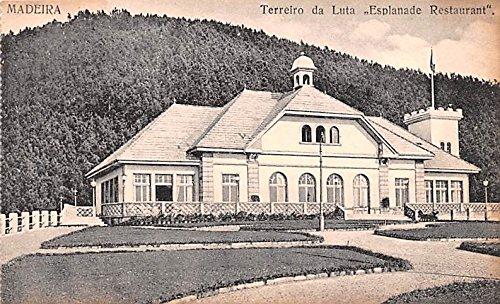 Madeira Terreiro da Luta, Esplanade Restaurant Spain Postcard