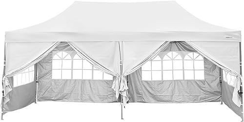 Klismos 10×20 Pop up Canopy Tent Outdoor Party Wedding Gazebo