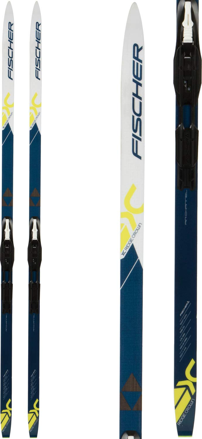 Fischer Ridge Crown XC Skis w Tour Step-in IFP Bindings Mens