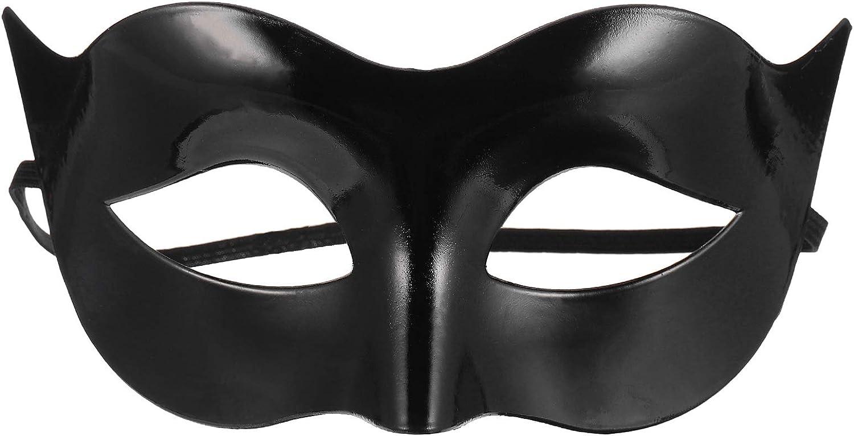 Volt Black Hand-Painted Men/'s Masquerade Mask A-2093B-E