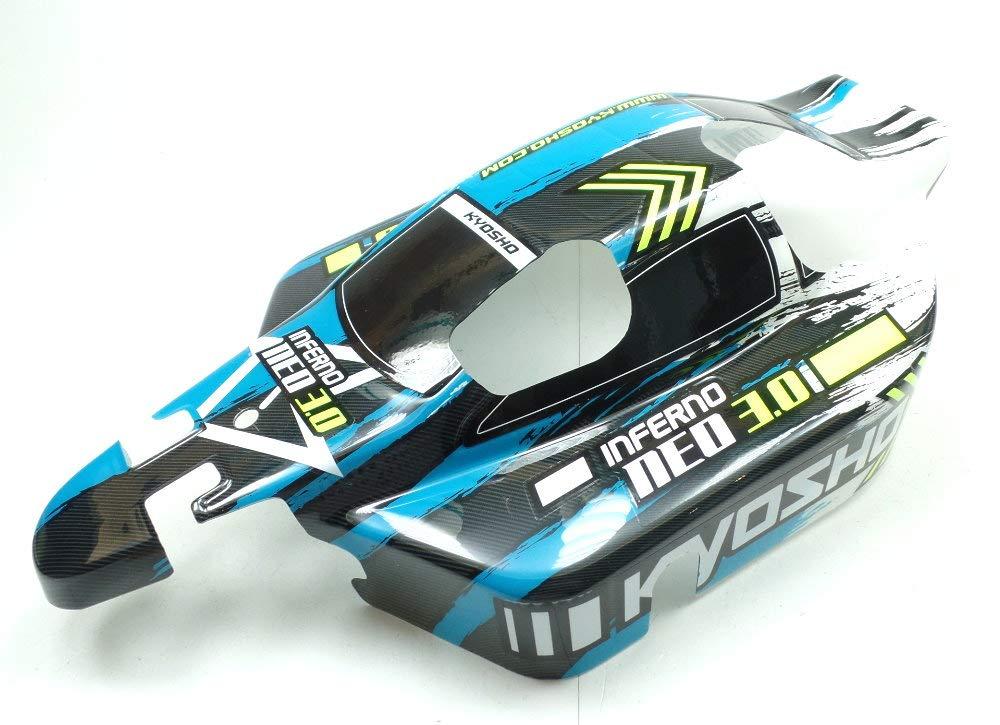 Kyosho 1:8 Inferno Neo 3.0 Buggy IFB114T1 Body Blue Laminated Painted KI3/®