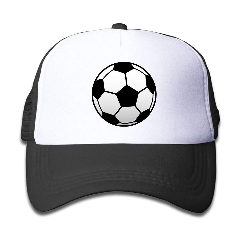 FEAIYEA Kids Boys Girls Soccer Football Sport Youth Mesh Baseball Cap Summer Adjustable Trucker Hat