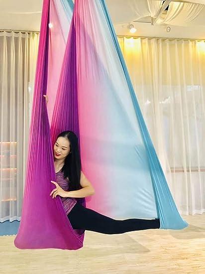 QDDA Columpio de Yoga/Hamaca de Yoga/Anclajes de Techo ...