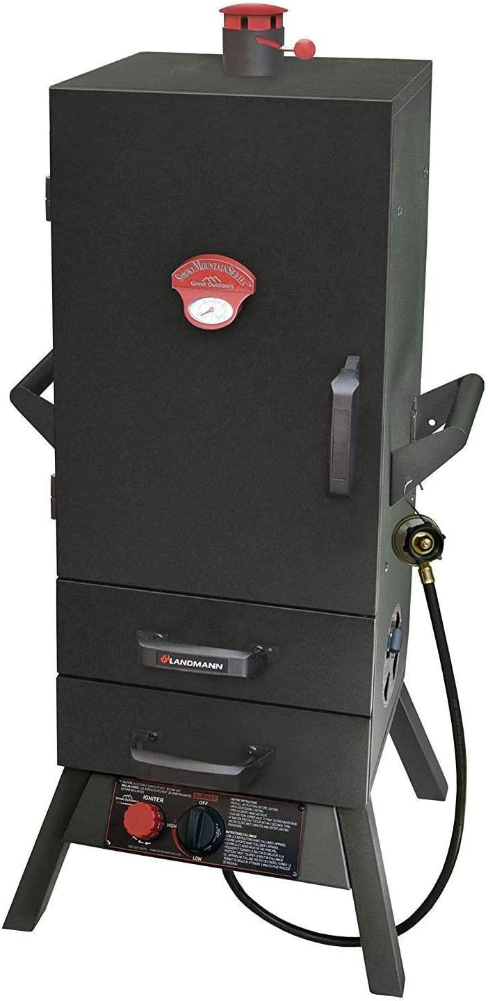 Best Heavy-duty Model - Landmann 3495GLA Smoky Mountain Gas Smoker