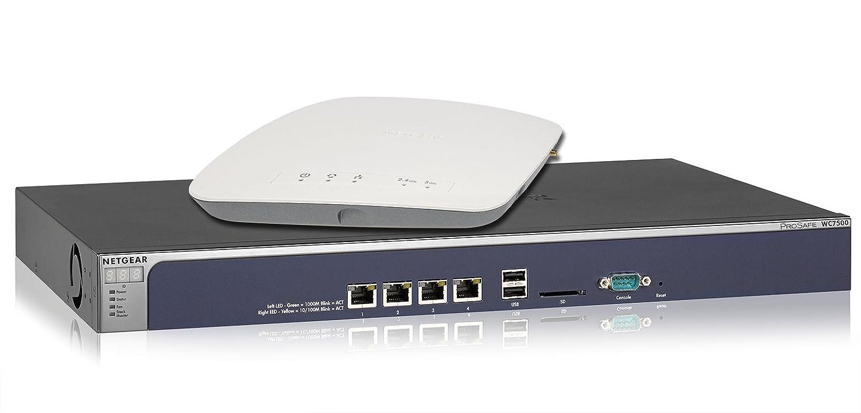 NETGEAR ProSAFE WC7500 Wireless LAN Controller WC7500  5 x NETGEAR ProSAFE WAC720 Business 2x2 Dual