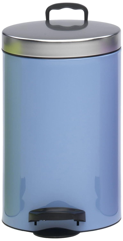 meliconi Pedal Bin Metal 14 L Azure Blue: Amazon.co.uk: Kitchen & Home