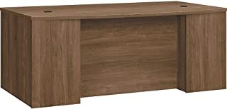 product image for HON Foundation Laminate Breakfront Desk Shell with Bowfront, Pinnacle