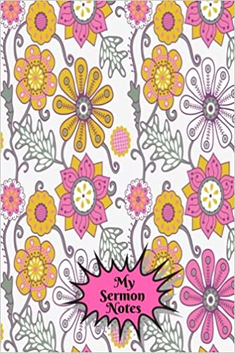 My Sermon Notes Portable Daily Weekly Bible Study Organizer Journal