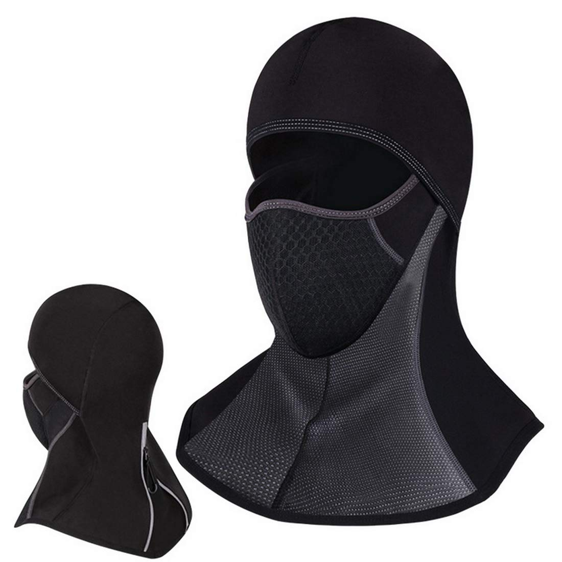 LITTHING Winter Headgear Hood Riding Mask Warming Face Neck Cover Men Ski Mask