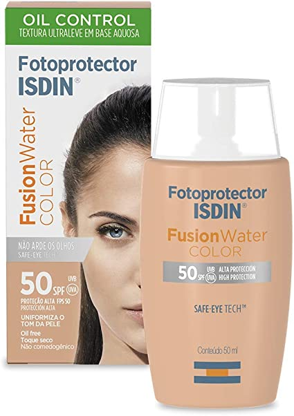 Fotoprotetor Isdin Fusion Water Color Isdin Amazon Com Br Beleza